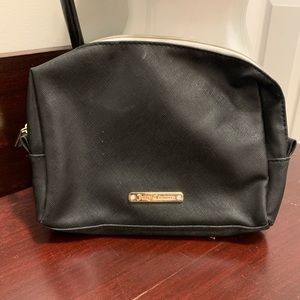Juicy couture black make up pouch
